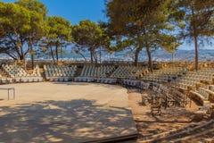 & x22; Erofili& x22; teater i den Fortezza slotten Fotografering för Bildbyråer