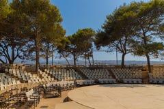 & x22; Erofili& x22; teater i den Fortezza slotten Royaltyfria Foton