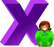 X est pour Image libre de droits