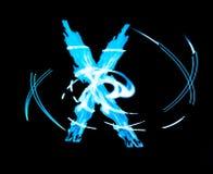 X-fator frio astral imagens de stock