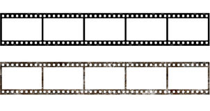 5x Film Frame Old. Film Frame Oldm, Picture Frame Stock Photography