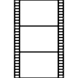 3x Film Frame. Film Frame Old, Picture Frame Royalty Free Stock Photography