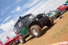 4x4 at foxhill Royalty Free Stock Photography