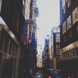 A& x27; Grobelne ulicy obraz stock