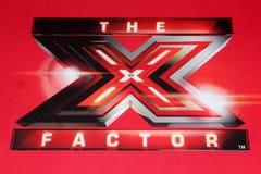 X het Embleem van de Factor bij de VOS   Royalty-vrije Stock Foto