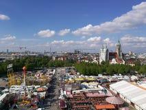 & x22; Hlingsfest& x22 do ¼ de FrÃ; 2017 em Munich Alemanha Foto de Stock