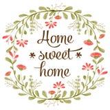 & x22; Home& dolce domestico x22; Fotografia Stock Libera da Diritti