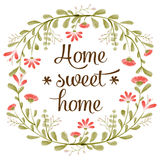 & x22;Home sweet home& x22; Royalty Free Stock Photo