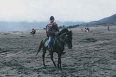 & x22; Horseman& x22; Zdjęcia Royalty Free