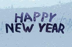 X22 & inskrypcja; szczęśliwy nowy year& x22; Zdjęcia Royalty Free
