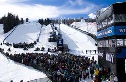 X-Juegos 2011 del invierno de ESPN Fotos de archivo libres de regalías