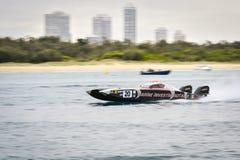 X-Katzen-Schnellboot Stockfotografie