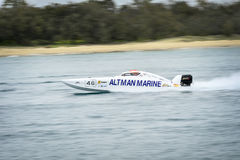 X-Katzen-Schnellboot Stockfotos