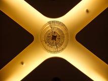 X kształta kryształu świecznik zdjęcia royalty free