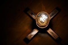 X Lampe stockfotografie