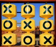 X 0 lek Arkivbilder