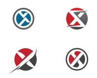 X Letter Logo Template Stock Photo
