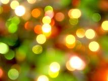 X& x27; luce del bokeh di mas Fotografia Stock