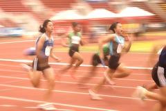 4x100m.Relay in Tailandia aprono il campionato atletico 2013. Fotografia Stock Libera da Diritti
