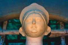 & x22; Maa Durga& x22; ou & x22; Devi Durga & x22; fim acima fotos de stock