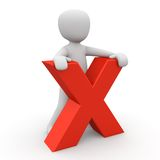 X-man Stock Photography