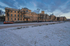 'the Marine Corps of Peter the Great - St. Petersburg Naval Institute' royalty free stock images
