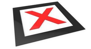 X marks the spot Royalty Free Stock Photo