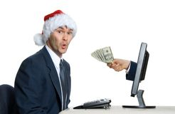 X-mas $ Stock Photography