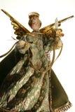 X-mas angel. Old selfmade christmas angel stock image