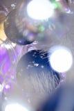 X'mas Ball. Closeup of xmas decorated ball Royalty Free Stock Photo
