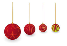 X-mas balls Royalty Free Stock Photography