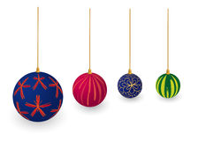 X-mas balls Royalty Free Stock Photos