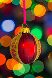X-mas bauble Royalty Free Stock Images