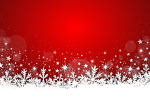 X-Mas Card - Snowy 01 Royalty Free Stock Photography