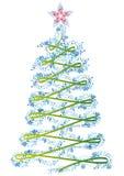 X-MAS drzewo Obraz Royalty Free