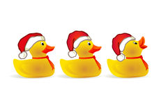X-mas duckling Royalty Free Stock Photo