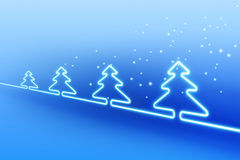 X-mas electric background Stock Photography