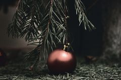 X-mas ending Royalty Free Stock Photography
