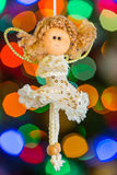 X-mas fairy Stock Photos
