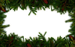 X-mas frame Stock Photography