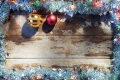 X-mas frame Royalty Free Stock Photos