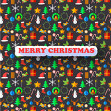 X-mas Greeting Card. Merry Christmas Stock Photography