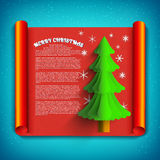 X-mas Greeting Card. Merry Christmas Royalty Free Stock Photo