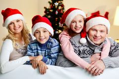 X-mas hugs Royalty Free Stock Images