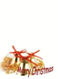X-mas invitation Stock Photography