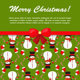 X-mas and New Year background. Seamless pattern Royalty Free Stock Photography