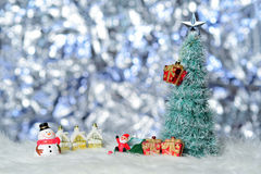 X`mas object. Snowman Royalty Free Stock Photo