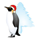 X.mas penguin Royalty Free Stock Photography