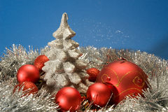 X-mas Postcard Royalty Free Stock Images