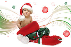 X'mas present Royalty Free Stock Images